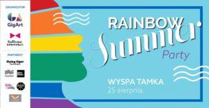 Plakat Rainbow Summer Party
