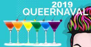 Plakat imprezy Queernaval 2019