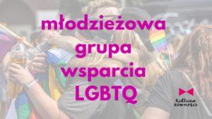 Młodzieżowa grupa wsparcia LGBTQ